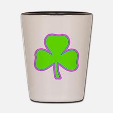 Irish Lucky Shamrock Shot Glass