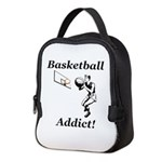 Basketball Addict Neoprene Lunch Bag