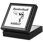 Basketball Addict Keepsake Box