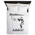 Basketball Addict Queen Duvet