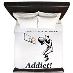 Basketball Addict King Duvet