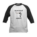 Basketball Addict Kids Baseball Jersey