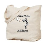 Basketball Addict Tote Bag