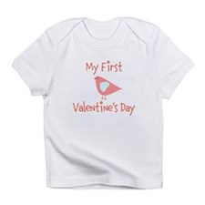 My First Valentines Day Infant T-Shirt