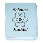 Science Junkie baby blanket