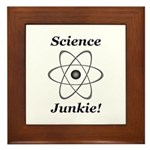 Science Junkie Framed Tile