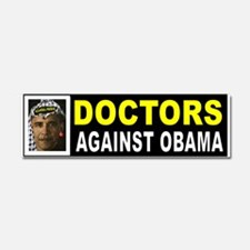 OBAMA DOCTORS BUMPER_001 Car Magnet 10 X 3