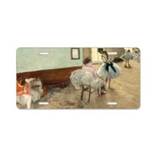 Edgar Degas - The Dance Les Aluminum License Plate