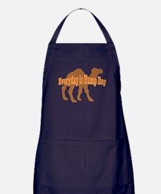 Hump Day Everyday is Hump day Apron (dark)