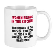 Women Belong Kitchen Mug