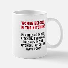 Women Belong Kitchen Mug