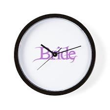 Bride - Pink Fantasy Wall Clock