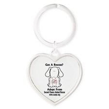 SCARPR Got Rescue Heart Keychain