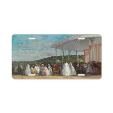 Eugene Boudin - Concert at  Aluminum License Plate