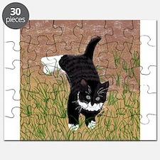 Mustache Kitten Puzzle