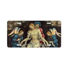 Filippino Lippi - Pieta Aluminum License Plate