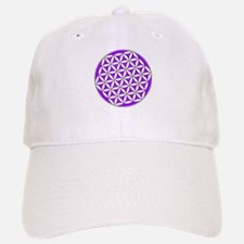 Flower of Life Purple Baseball Baseball Cap