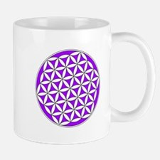 Flower of Life Purple Mug
