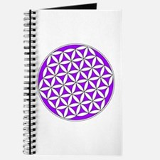 Flower of Life Purple Journal