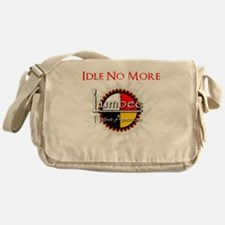 Idle No More: Lumbee Messenger Bag