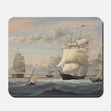 Fitz Henry Lane - New York Harbor Mousepad