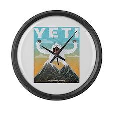 Yeti Large Wall Clock