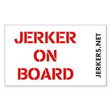 JERKER ON BOARD Decal