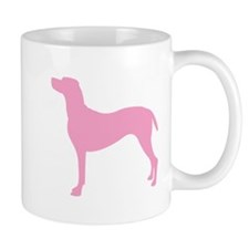 Just Vizsla (Pink) Coffee Mug