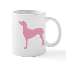 Just Vizsla (Pink) Small Mug