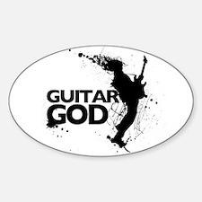 Guitar God Decal