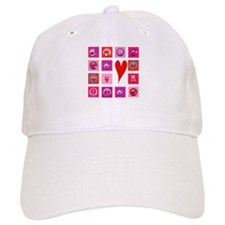 Valentine Monsters Baseball Cap