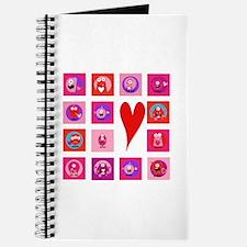 Valentine Monsters Journal
