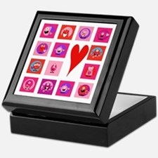 Valentine Monsters Keepsake Box