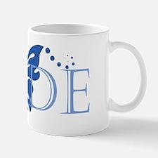 Bride - Blue Butterfly Mug