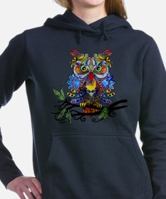 wild owl Hooded Sweatshirt