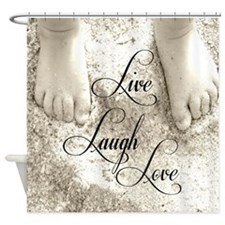 Feet In The Sand Shower Curtain