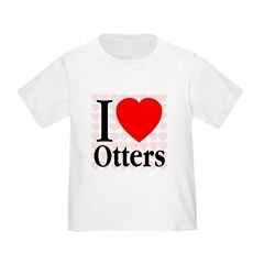I Love Otters T