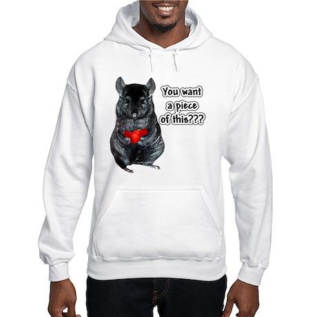 Chinny Piece Hooded Sweatshirt