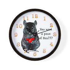 Chinny Piece Wall Clock
