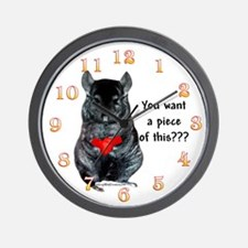 Chinny Piece Wall Clock