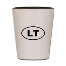 Lithuania LT Shot Glass