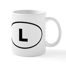 Luxembourg L Mugs