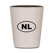 Netherlands NL Shot Glass