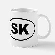 Slovakia SK Mugs