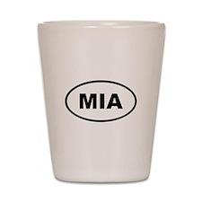 MIA Miami Shot Glass