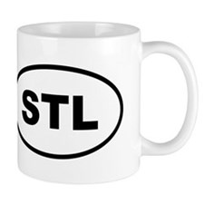STL St Louis Small Mugs