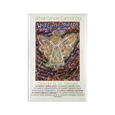 Southwest Cancer Angel Rectangle Magnet