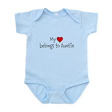 My Heart belongs to Auntie Body Suit