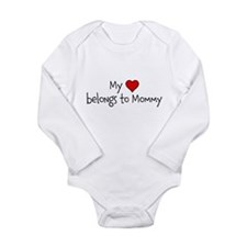 My Heart belongs to Mommy Body Suit