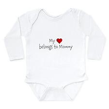 My Heart belongs to Mommy Body Suit